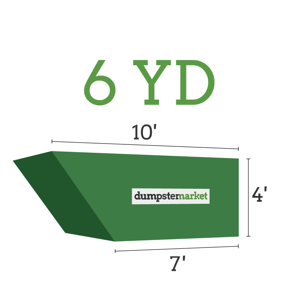 Image of dumpster: 6YD Roll-Off