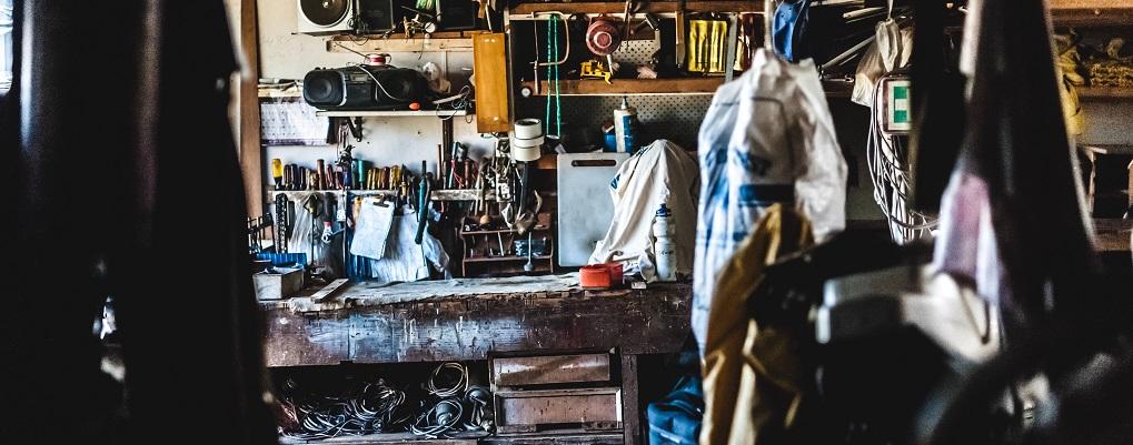Weekend cleanup garage