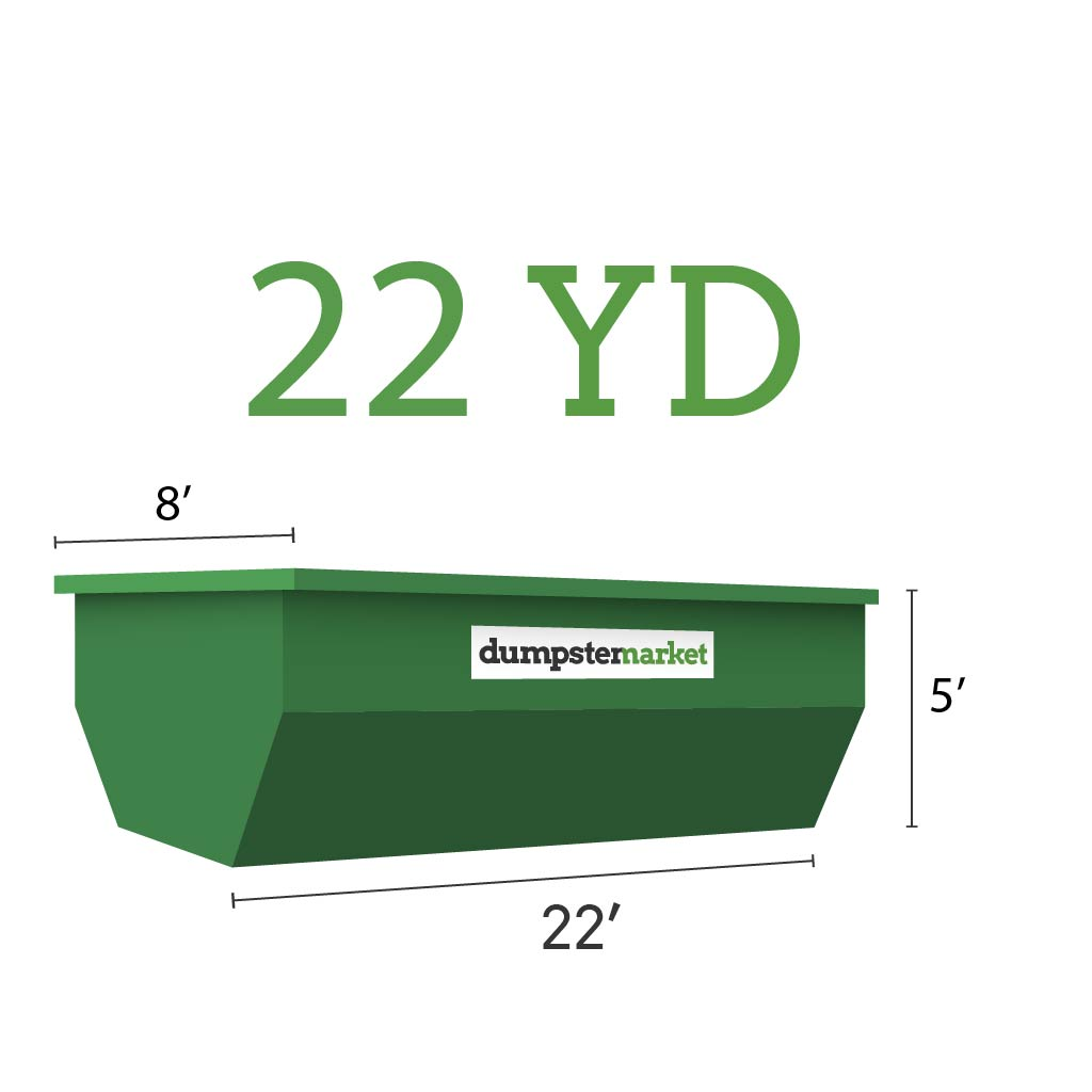 Image of dumpster: 22YD Roll-Off