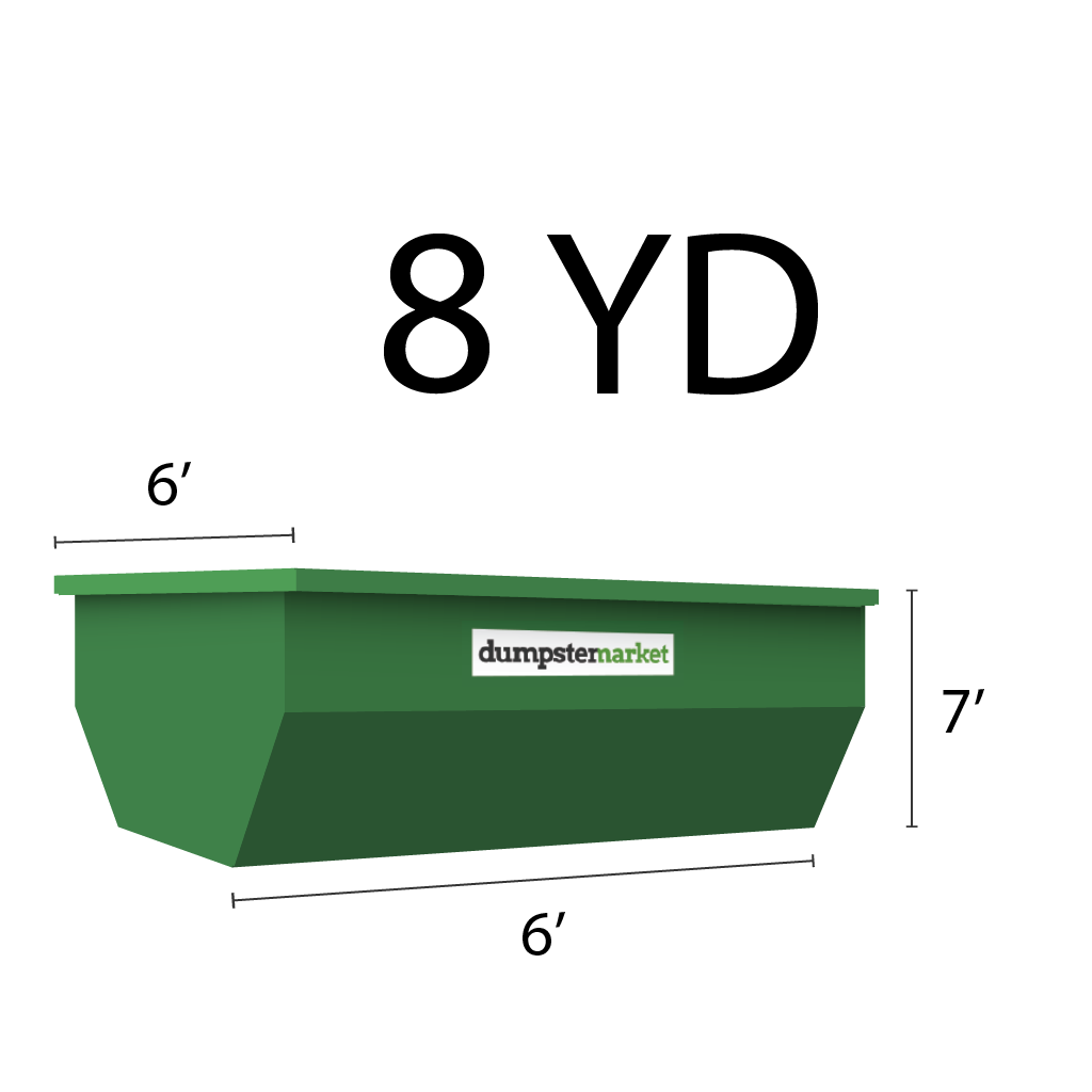 Image of dumpster: 8YD Roll-Off