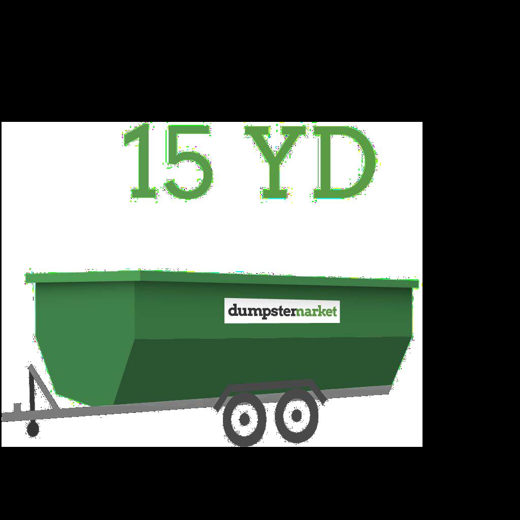 Image of dumpster: 15YD Dump Trailer