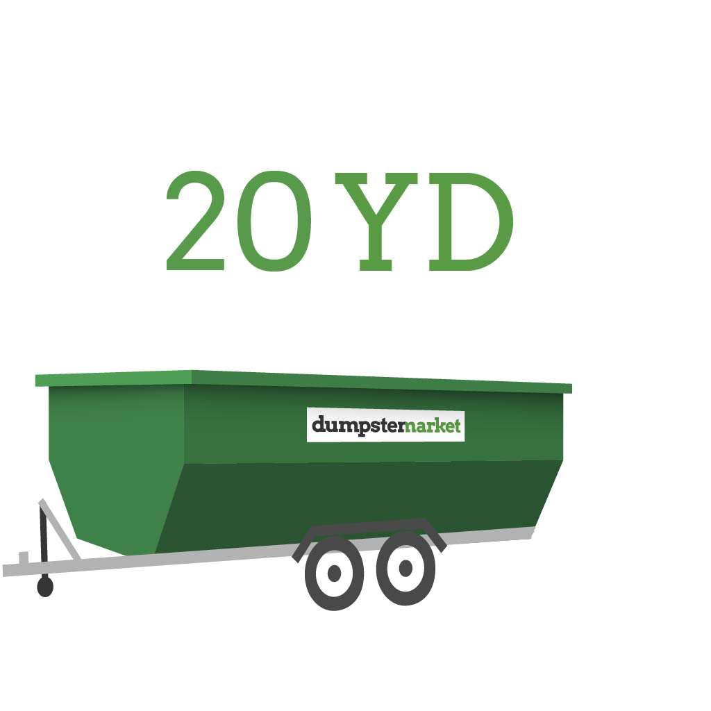 Image of dumpster: 20YD Dump Trailer
