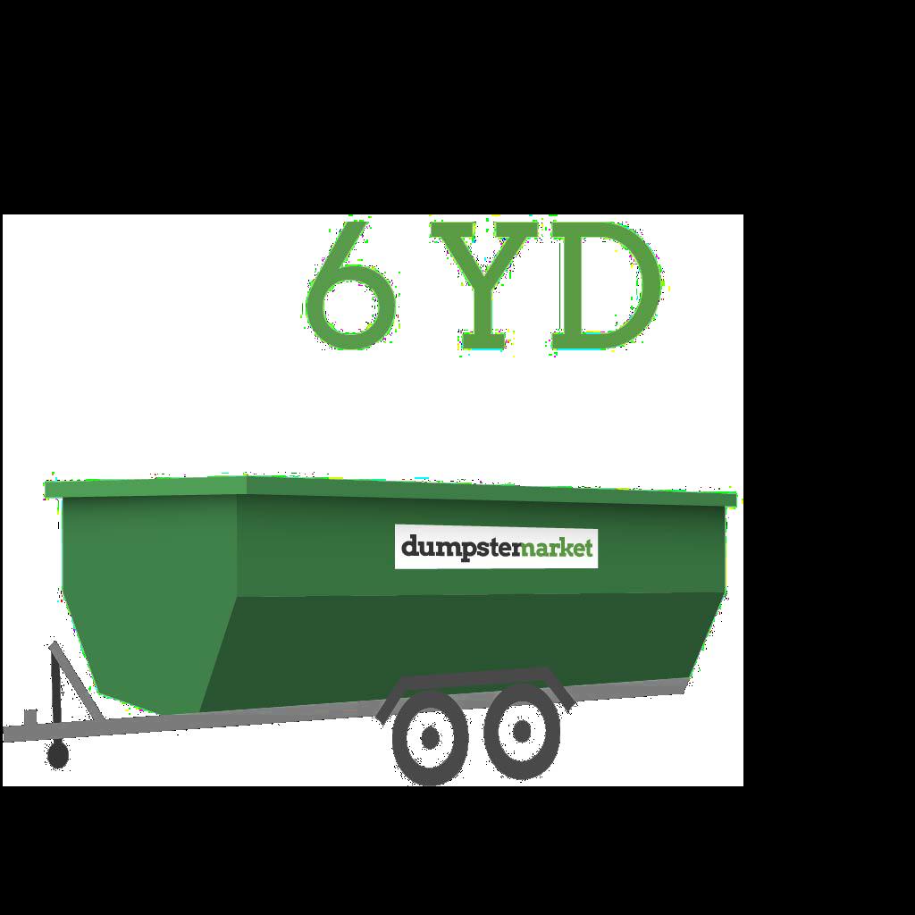 Image of dumpster: 6YD Dump Trailer