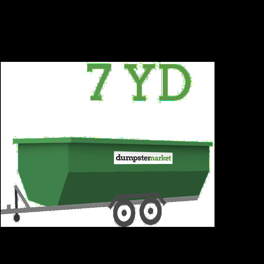 Image of dumpster: 7YD Dump Trailer