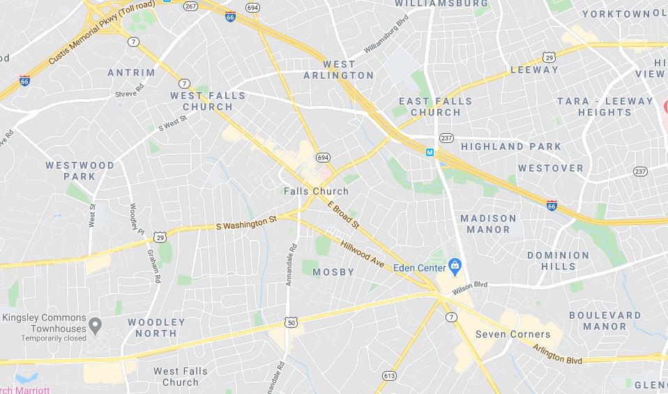 Falls Church dumpster rental
